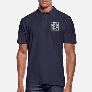 Rick Rolling QR Code - Men's Polo Shirt
