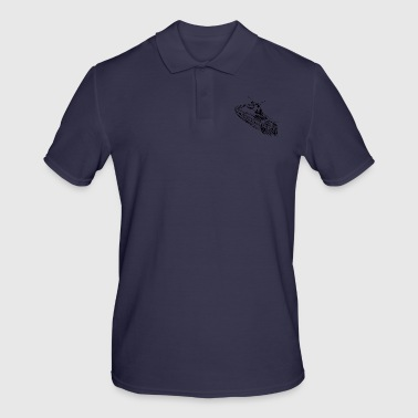 train - Men's Polo Shirt