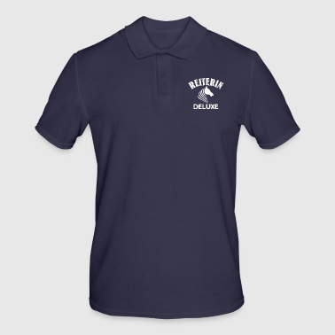 Horsewoman Deluxe - Men's Polo Shirt