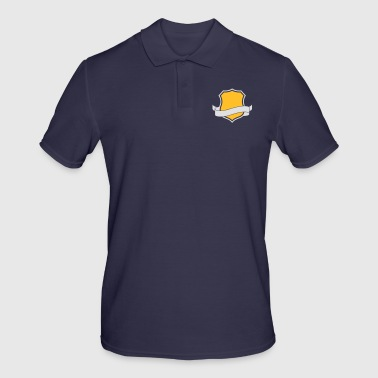 Template: Family Crest - Men's Polo Shirt