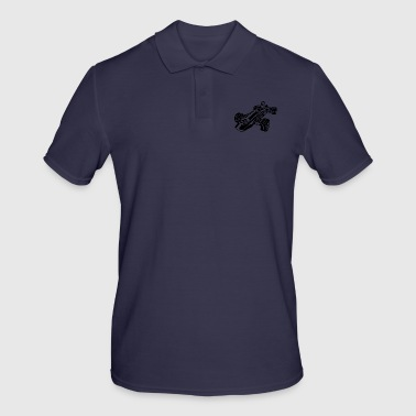 Race Car / Race Car 02_black - Men's Polo Shirt
