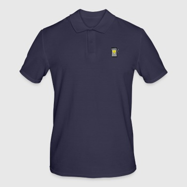 Broken mobile phone - Men's Polo Shirt