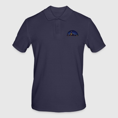 NY night skyline - Men's Polo Shirt