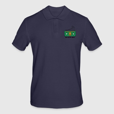 Turn up the music - Men's Polo Shirt