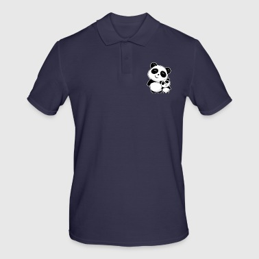 Panda siblings - Men's Polo Shirt
