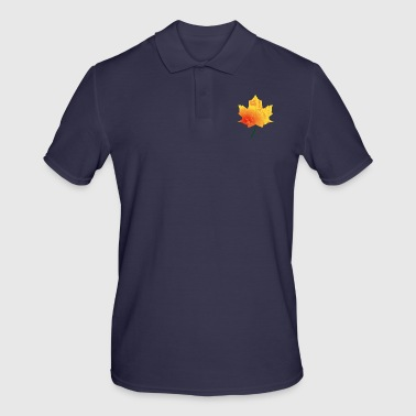 Maple leaf - autumn maple - Men's Polo Shirt