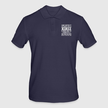 Architect Shirt The Hardest Part of My Job - Men's Polo Shirt
