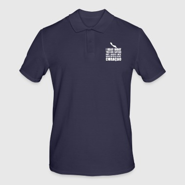 Funny Curacao holiday gift idea - Men's Polo Shirt