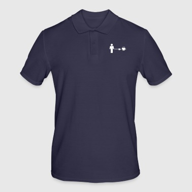 Coffee Charger / Recharge Energy / Gift - Men's Polo Shirt