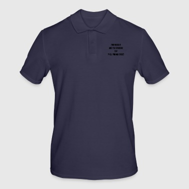 FOR WHICH ARE YOU DRINKING SARCASM HUMOR QUOTE - Men's Polo Shirt