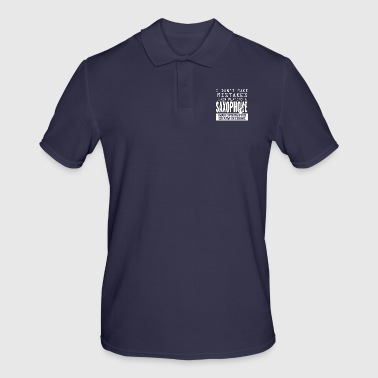Playing Saxophones are creative decisions - Men's Polo Shirt