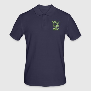 workaholic - Men's Polo Shirt