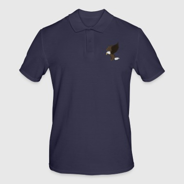 Bald eagle bird of prey - Men's Polo Shirt