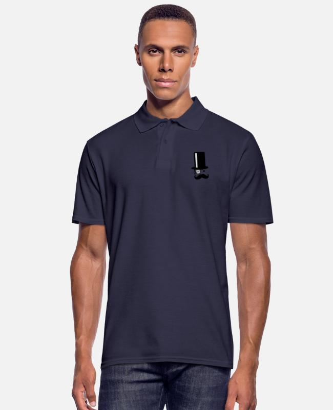 Misceláneo Camisetas polo - Sir Broken Glass - Camiseta polo hombre azul marino