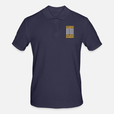 Days Of The Week The Shit Day In A Week! - Men's Polo Shirt