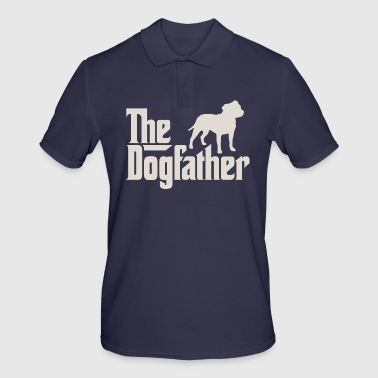 Staffordshire The Dogfather - Staffordshire Bull Terrier - Men's Polo Shirt