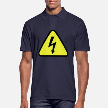 Electrical electricity - Men's Polo Shirt