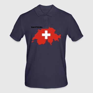 Switzerland, Switzerland - Men's Polo Shirt