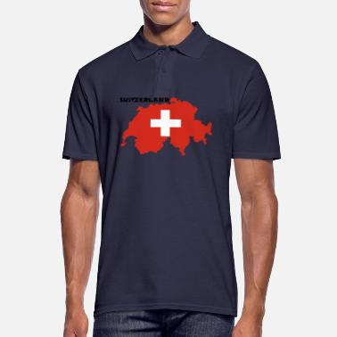 Switzerland Switzerland, Switzerland - Men's Polo Shirt