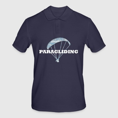 Paragliding paragliders paraglider gifts - Men's Polo Shirt