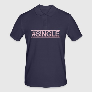 #SINGLE - Rose - Polo Homme