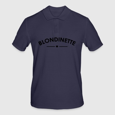 blonde - Men's Polo Shirt