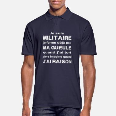 Militaire Militaire - Polo Homme