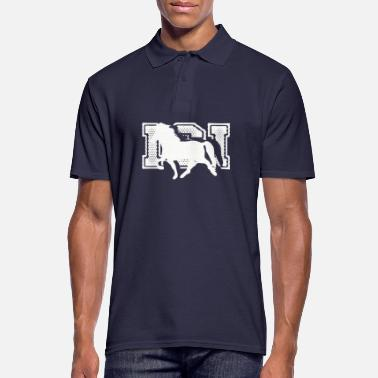 Horse Icelandic Horse: Icelandic Horse Horse Pony Merch - Men's Polo Shirt