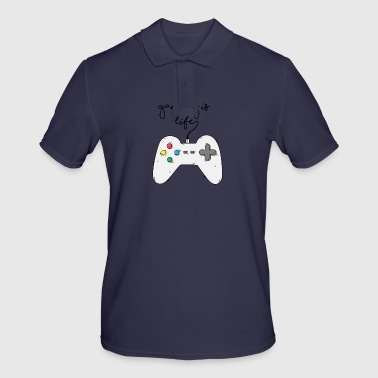 Game / Gamer / Games: Gaming is life. - Men's Polo Shirt