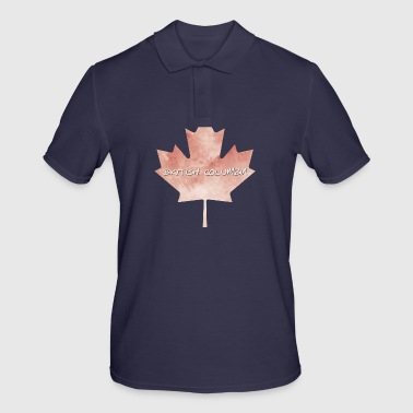 Colombie-Britannique Maple Leaf - Polo Homme