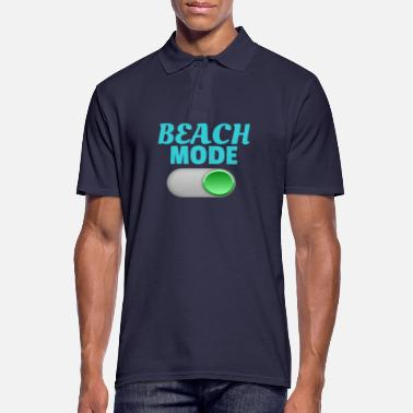 Mode beach mode on - Men's Polo Shirt