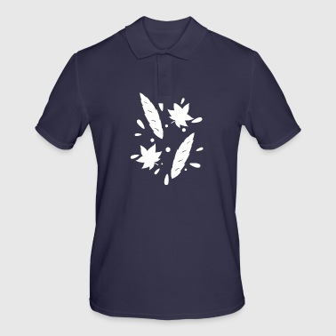 Leaves gift autumn leaf forest nature plant - Men's Polo Shirt