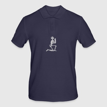 skeleton - Men's Polo Shirt