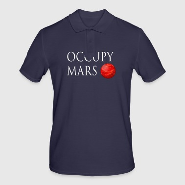 Occupy March Space - Men's Polo Shirt