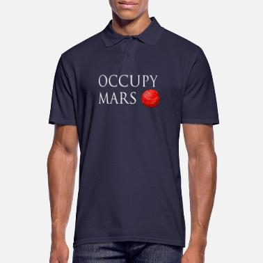 Occupy Occupy March Space - Männer Poloshirt