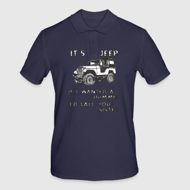 IT IS JEEP - Men's Polo Shirt