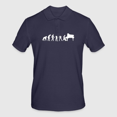 Evolution evolution piano - Men's Polo Shirt