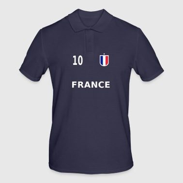 Maillot de football France numéro 10 - Polo Homme