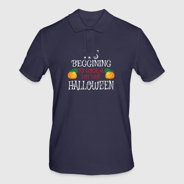 Halloween pumpkin - Men's Polo Shirt