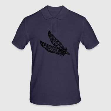 Maori feather - Men's Polo Shirt