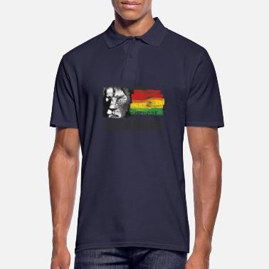 Rastafari Jah Live Irie - Men's Polo Shirt