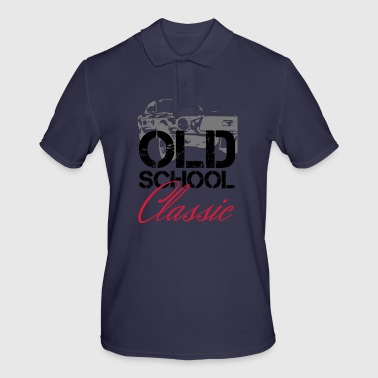 OLDSCHOOL Classic Muscle Car - Men's Polo Shirt