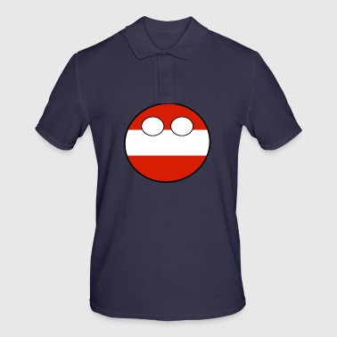 Country bal Country inheemse Oostenrijk - Mannen poloshirt