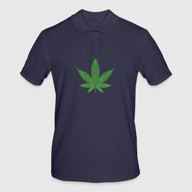 Cannabis leaf - Polo Homme
