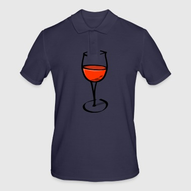 Wine Glass wine glass - Men's Polo Shirt