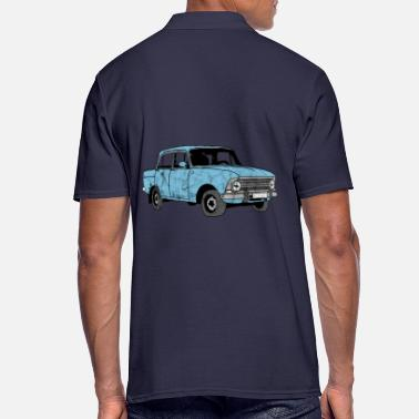 Vintage Vintage vintage car - Men's Polo Shirt