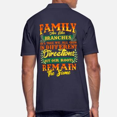 Family Crest FAMILY | Family Values Family Crest Gift - Men's Polo Shirt