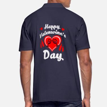 Anti Valentine Anti Valentine's Day anti-valentine single gift - Men's Polo Shirt