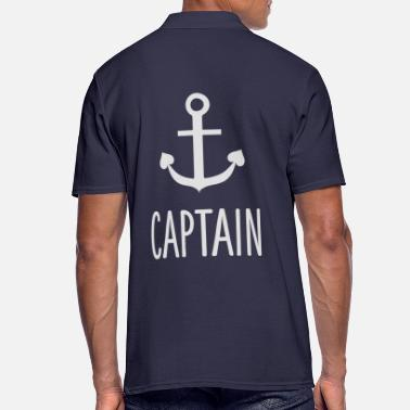 Capitaine Equipage - Captain Sailing Charter Capitaine d'équipage - Polo Homme