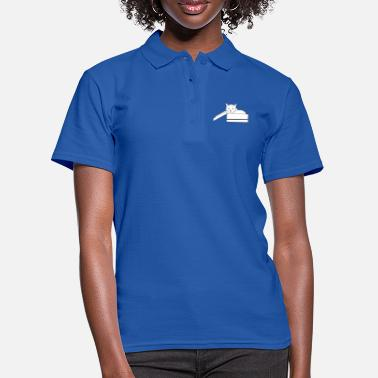 cat in the box - Women's Polo Shirt